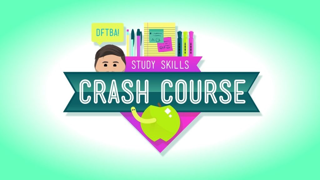 crash course youtube study channel