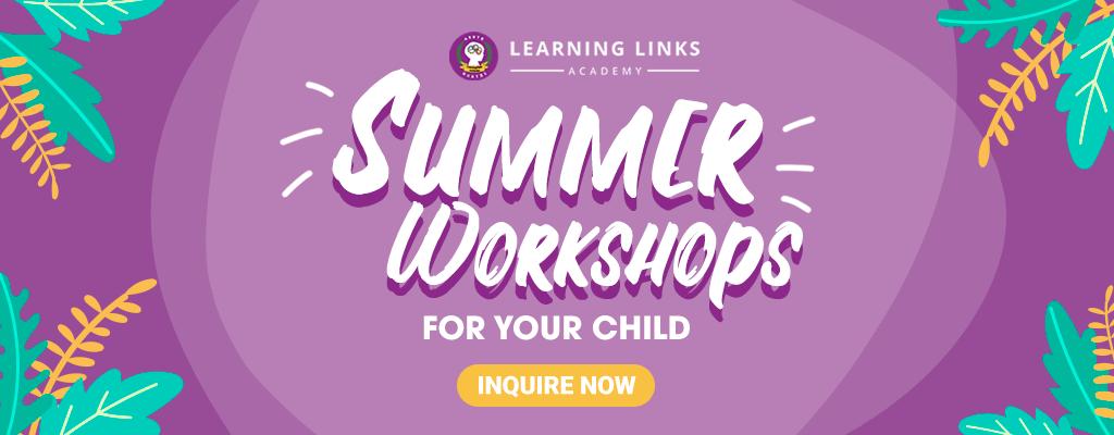 summer workshops for your child