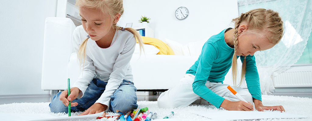 children doing different activities
