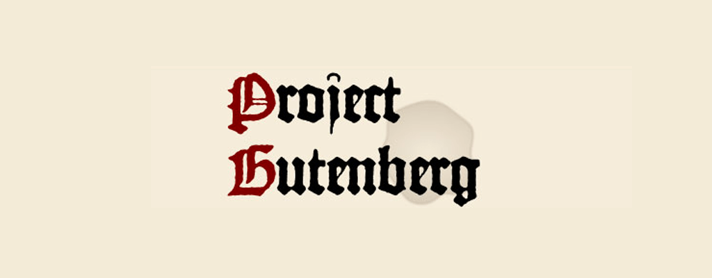 Learning Resource: Project Gutenberg